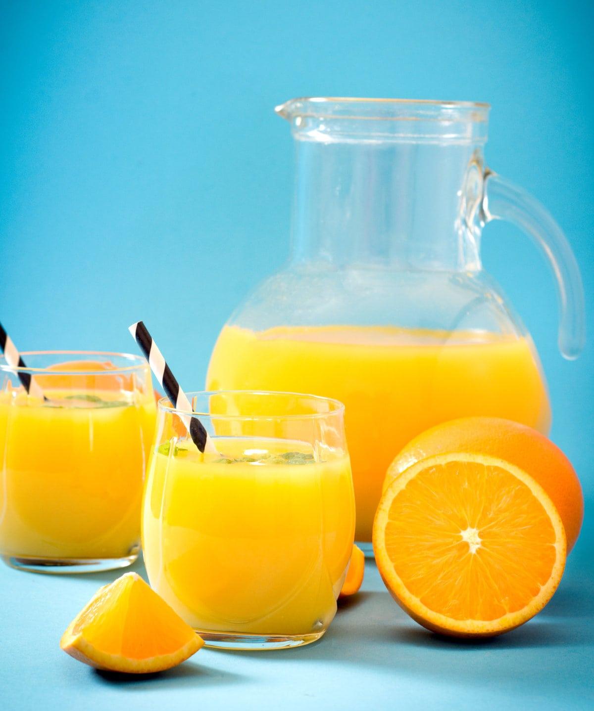 Orange Juice Pitcher