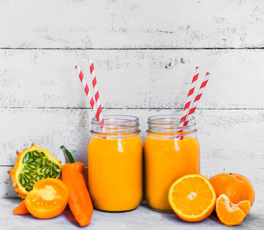 Orange Pepper Exotic Fruit Juice