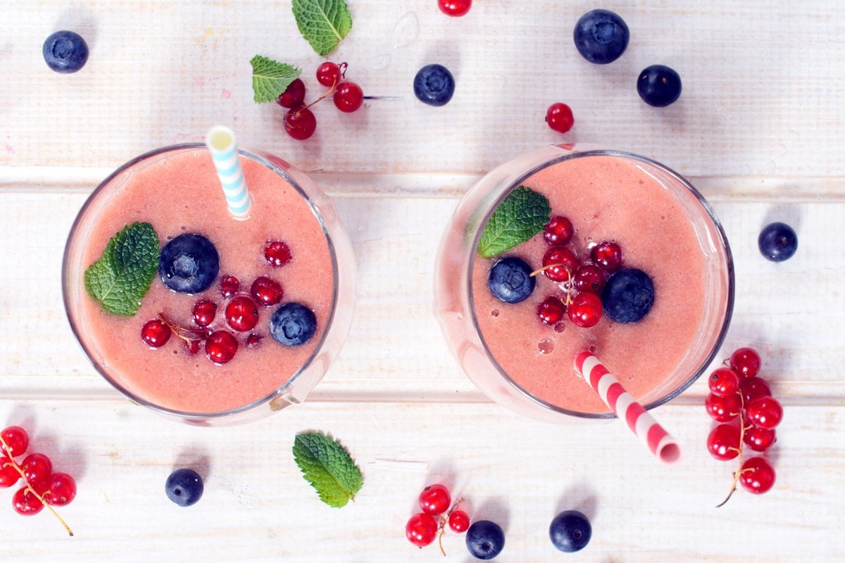 Fresh squeezed berry juice