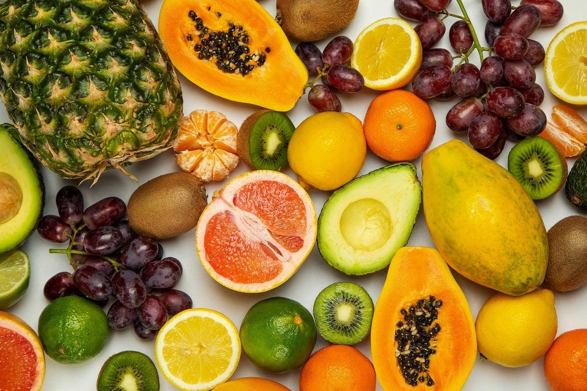 Detox diet fruits and vegetables