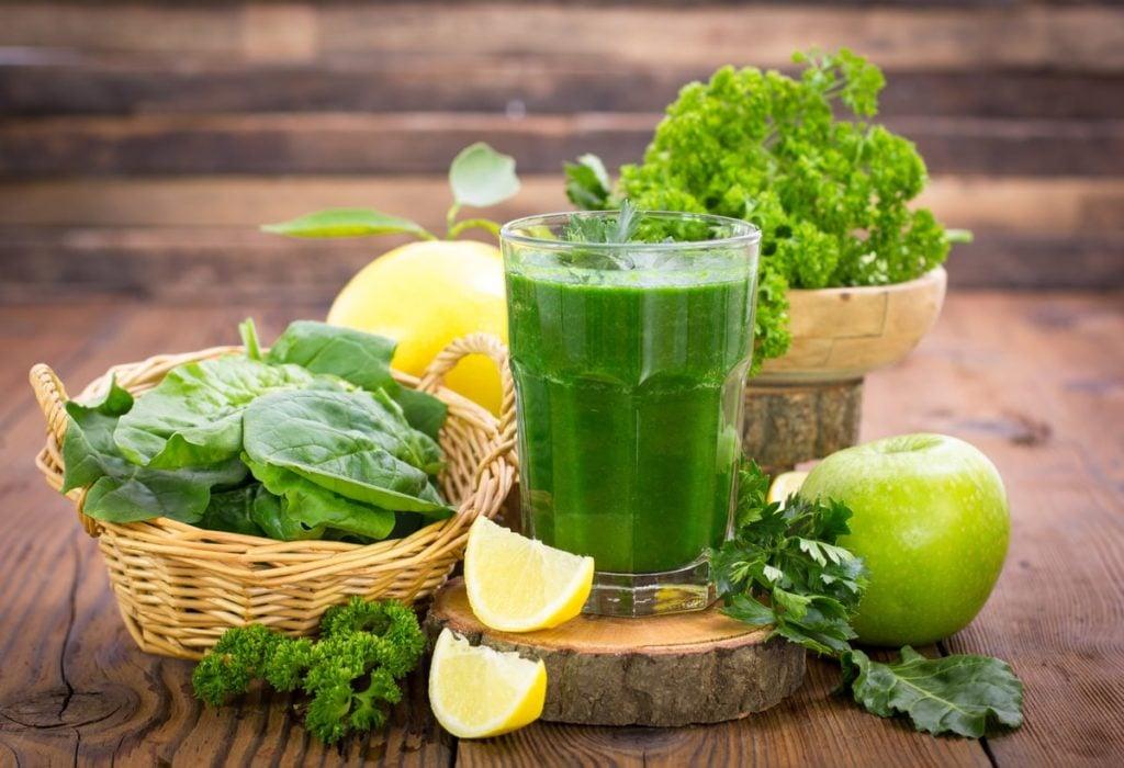 Green juice for diabetes