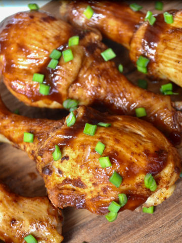 keto instant pot bbq chicken legs