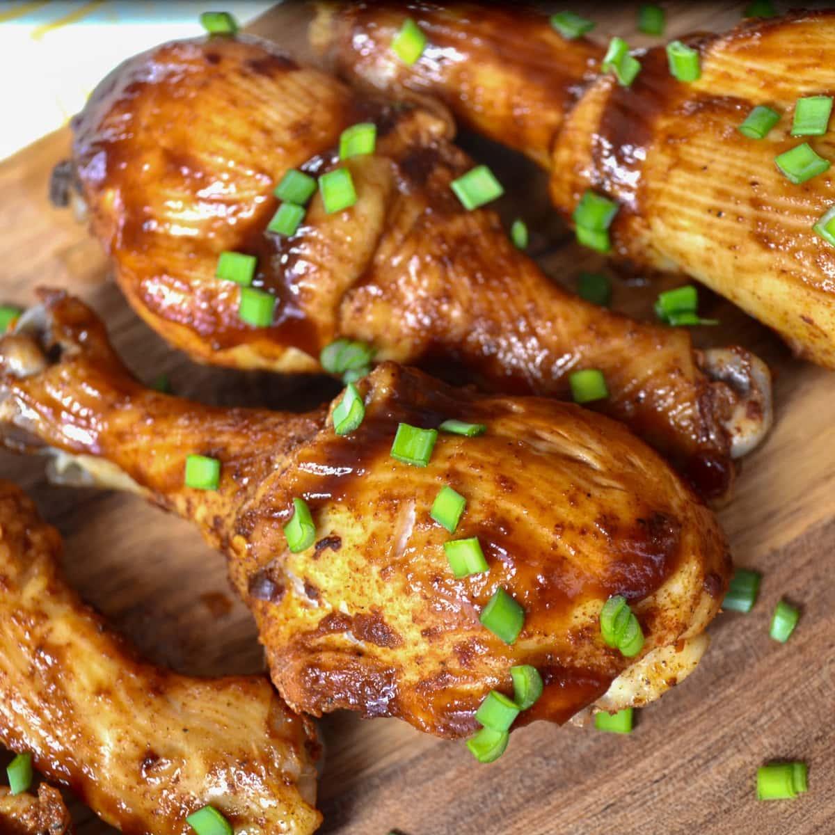 keto instant pot bbq chicken legs