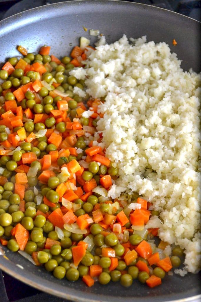 cauliflower rice cooking
