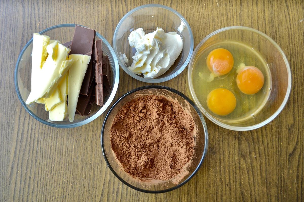 Keto Sugar-Free Brownies ingredients