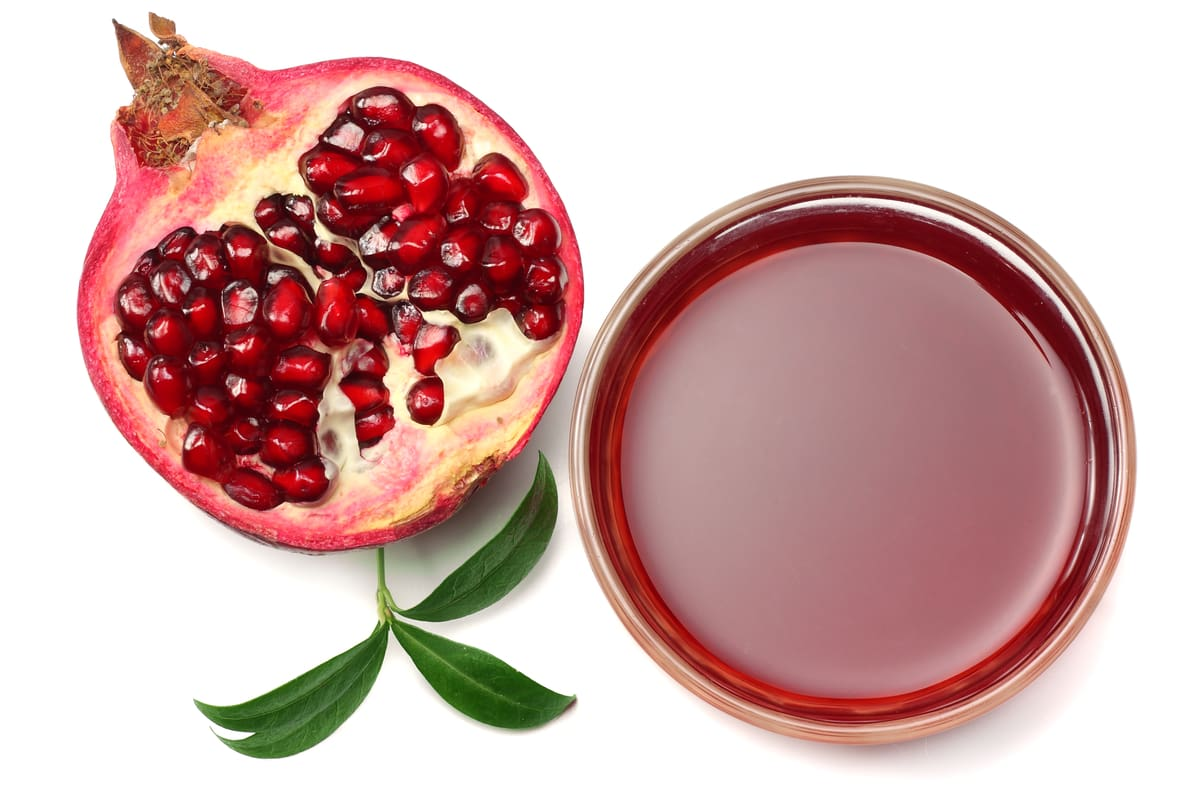 Oxidants Pomegranate