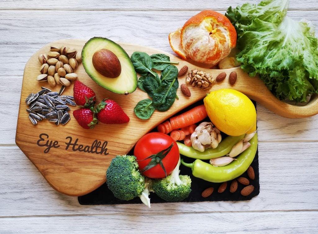 Spinach eyesight health benefit