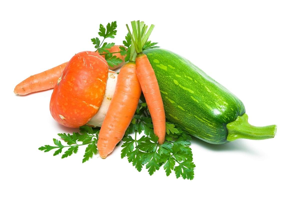Zuchini, Carrots