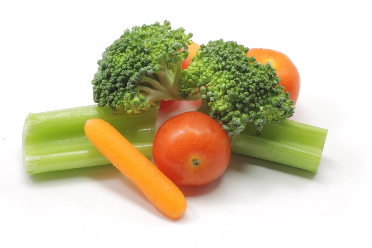 Broccoli, Carrots and Celery