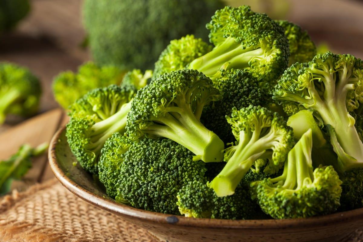 bowl of broccoli