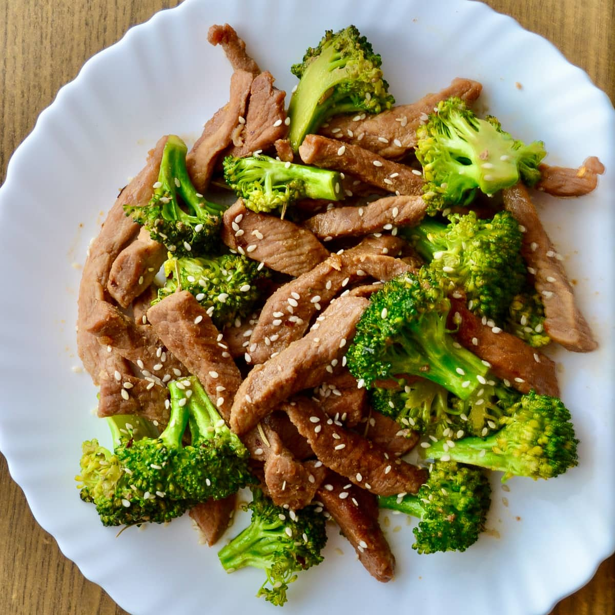 Keto Beef and Broccoli Stir Fry finished