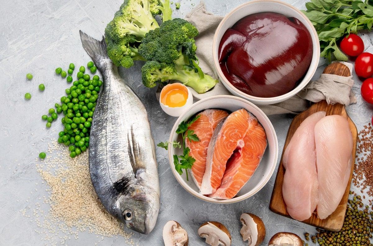 Meats and Fish: Heme and Non-Heme Iron
