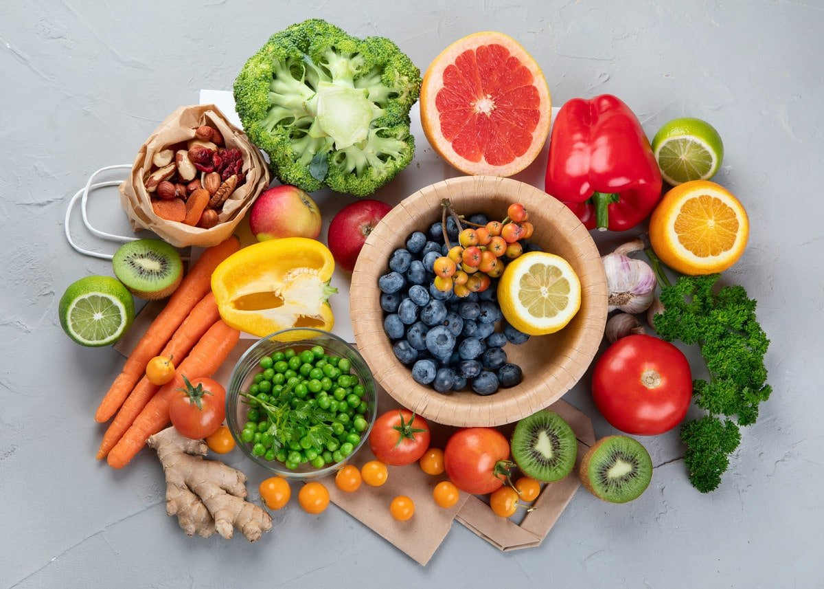 Good Foods to Fight Free Radicals /Oxidants