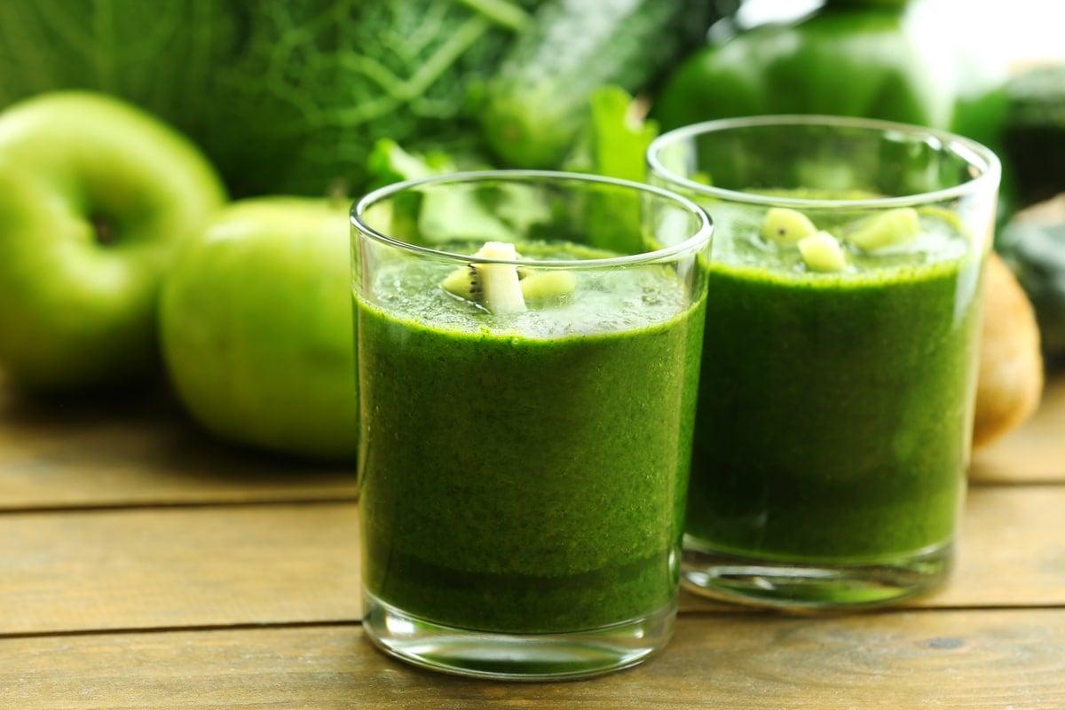 Apple and Cucumber Juice
