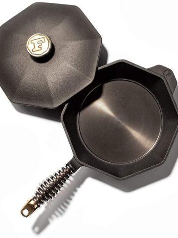 Finex cast iron skillet