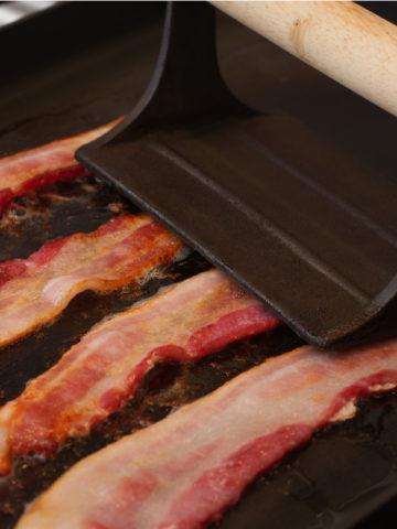 bacon press on bacon