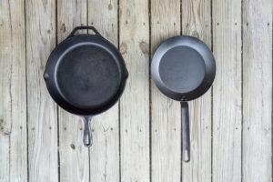 Cast Iron vs Carbon Steel