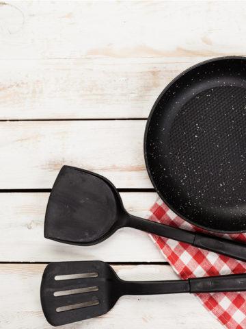 cast iron spatulas