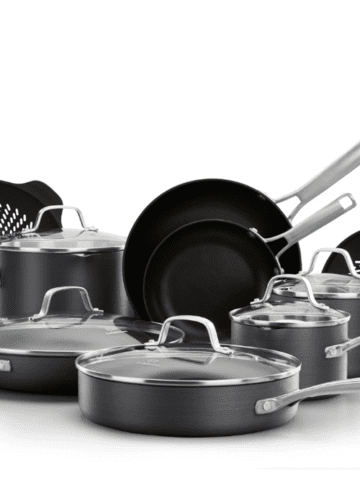 Calphalon Classic Anodized Nonstick 14-Piece Cookware Set