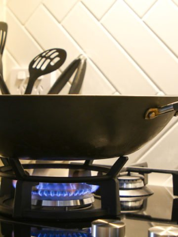 wok ring on a stovetop